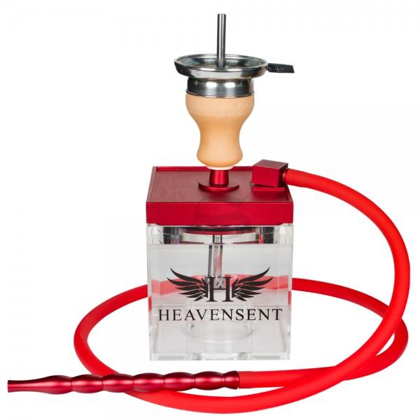Heavensent Cube Shisha - Red