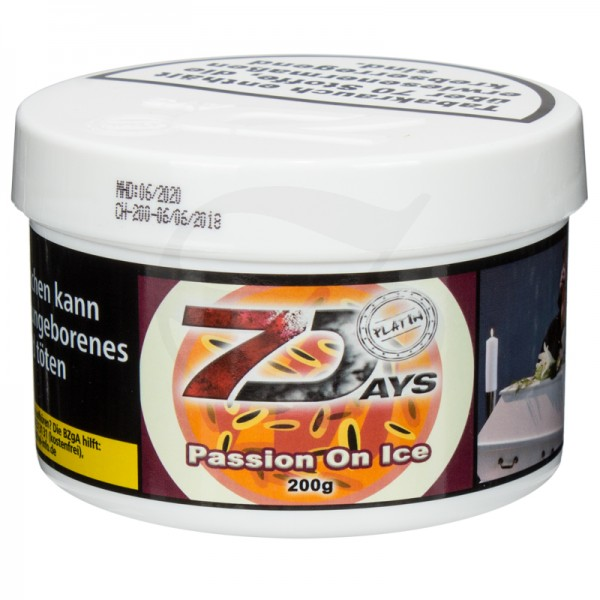 7 Days Platin Tabak - Passion on Ice 200g