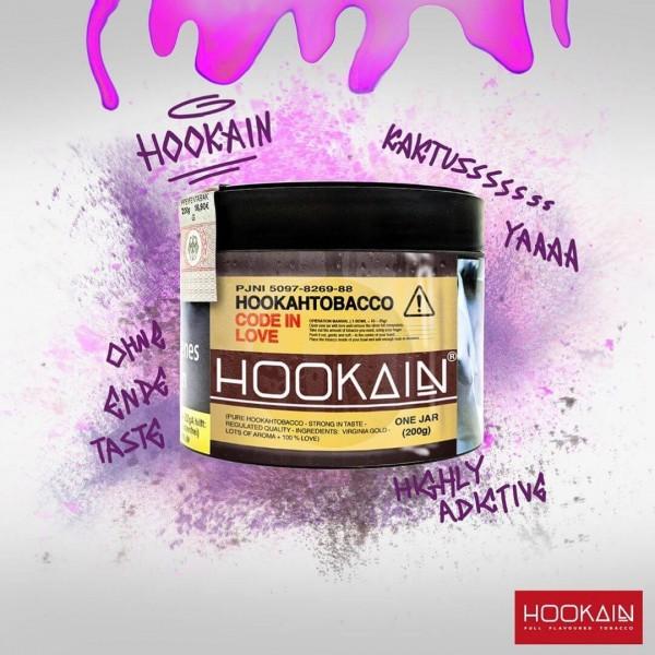 Hookain Shisha Tabak - Code in Love 200g