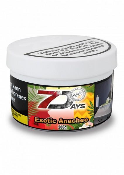 7 Days Platin Tabak - Exotic Anachee 200g