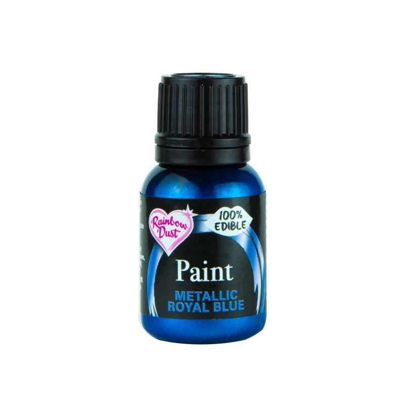 Metallic Food Paint - Metallic Royal Blue