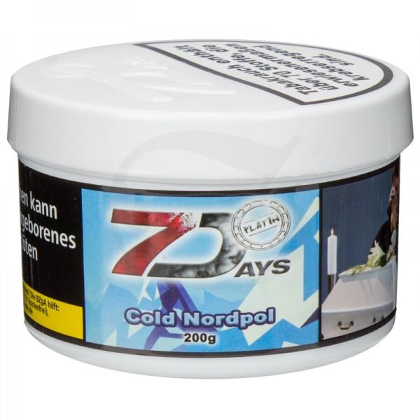 7 Days Platin Tabak - Cold Nordpol 200g