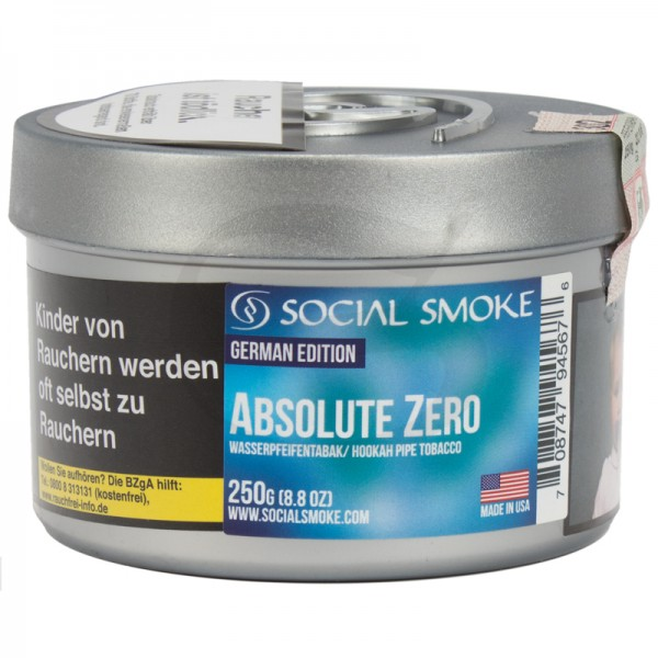 Social Smoke Absolute Zero 250g
