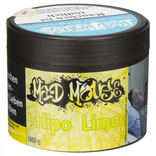 Mad Mouse Tabak - Hipo Limo 200g