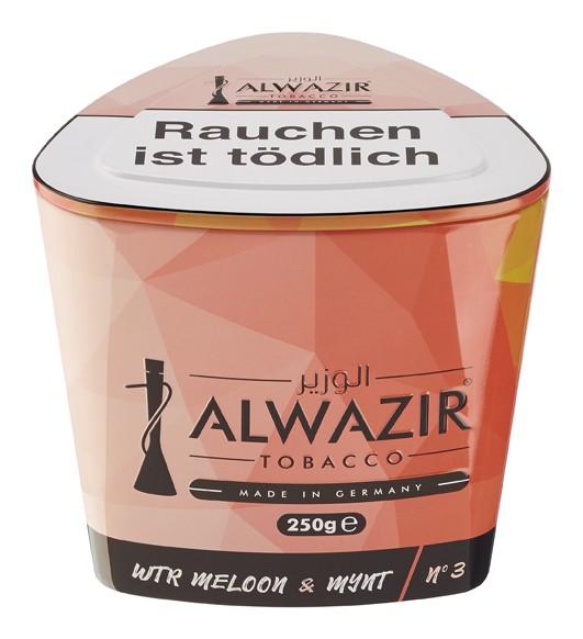 Alwazir Tabak - Wtr Meloon Mynt 250g