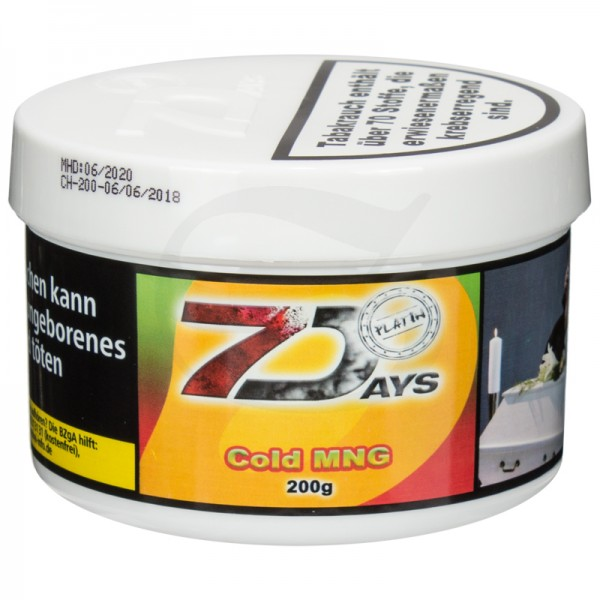 7 Days Platin Tabak - Cold MNG 200g