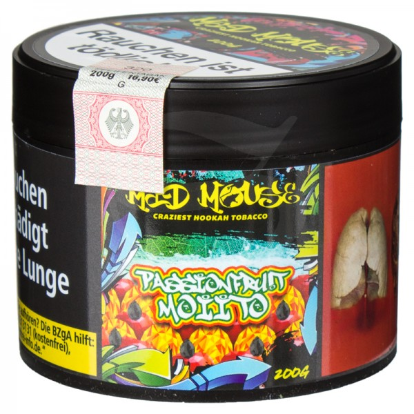 Mad Mouse Tabak - Passionfrut Moiito 200g