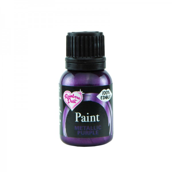 Metallic Food Paint - Metallic Purple