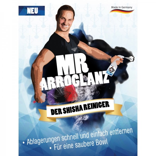 Mr. Arroglanz Shisha Reiniger