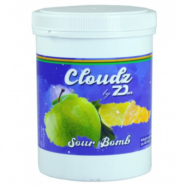 7Days Cloudz - Sour Bomb 500g