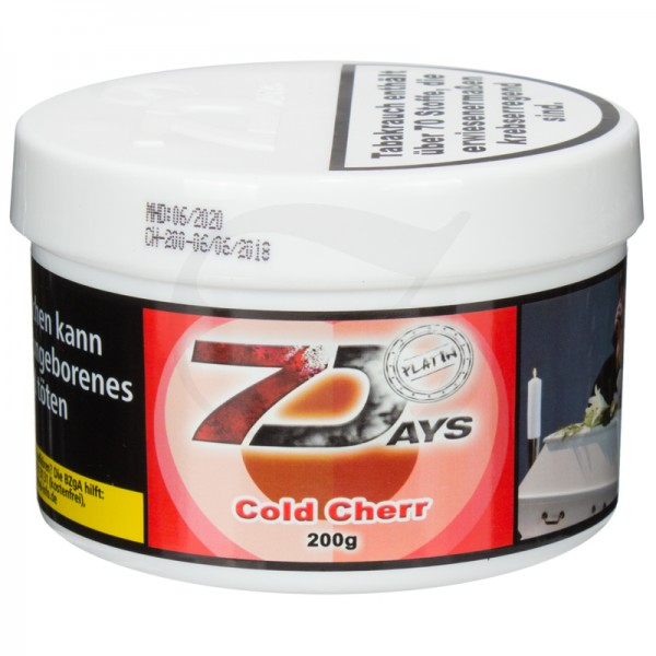 7 Days Platin Tabak - Cold Cherr 200g