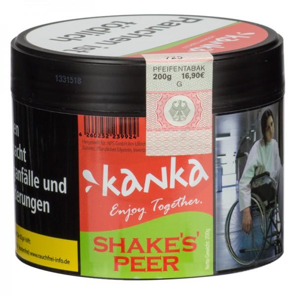 Kanka Tabak - Shakes Peer 200g
