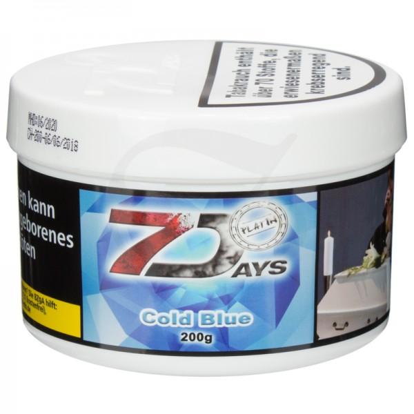 7 Days Platin Tabak - Cold Blue 200g