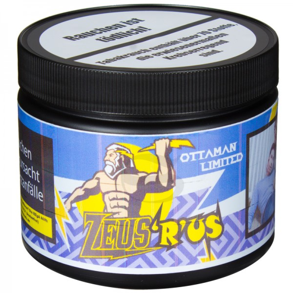 Ottaman Limited Tabak - ZEUS'R'US 200g