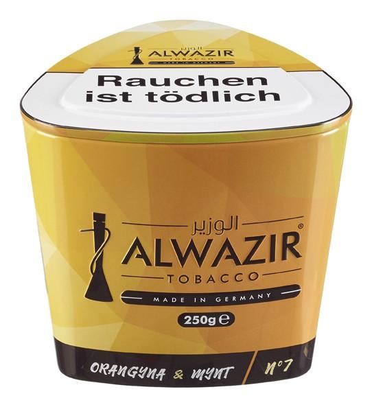 Alwazir Tabak - Orangyna Mynt 250g