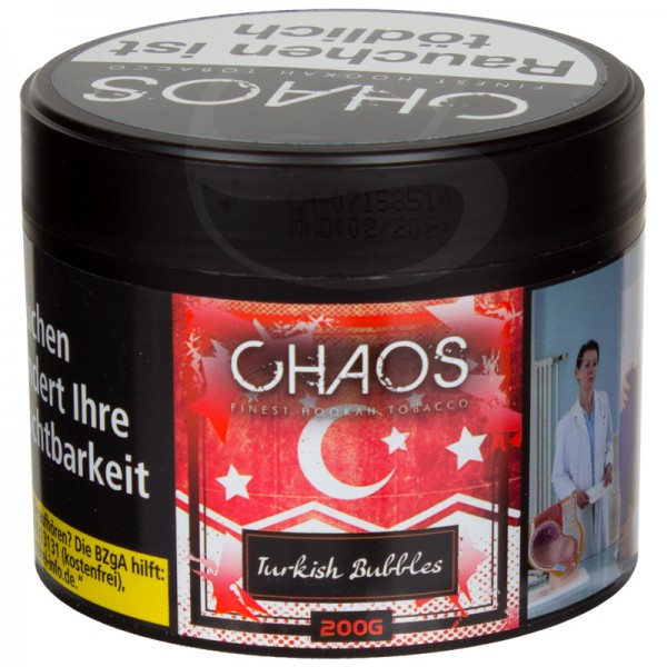 Chaos Tabak - Turkish Bubbles 200g