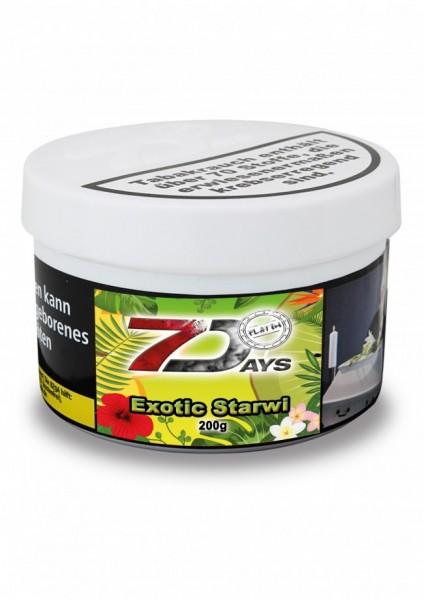 7 Days Platin Tabak - Exotic Starwi 200g