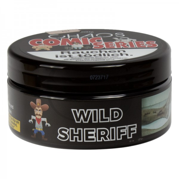 Chaos Tabak Comic Series - Wild Sheriff 200g